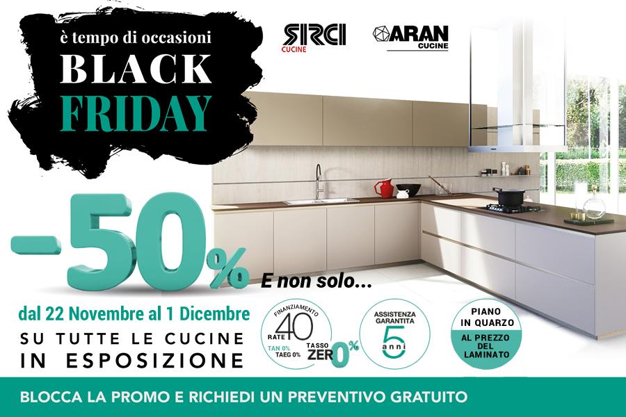 Black Friday di Sirci Cucine